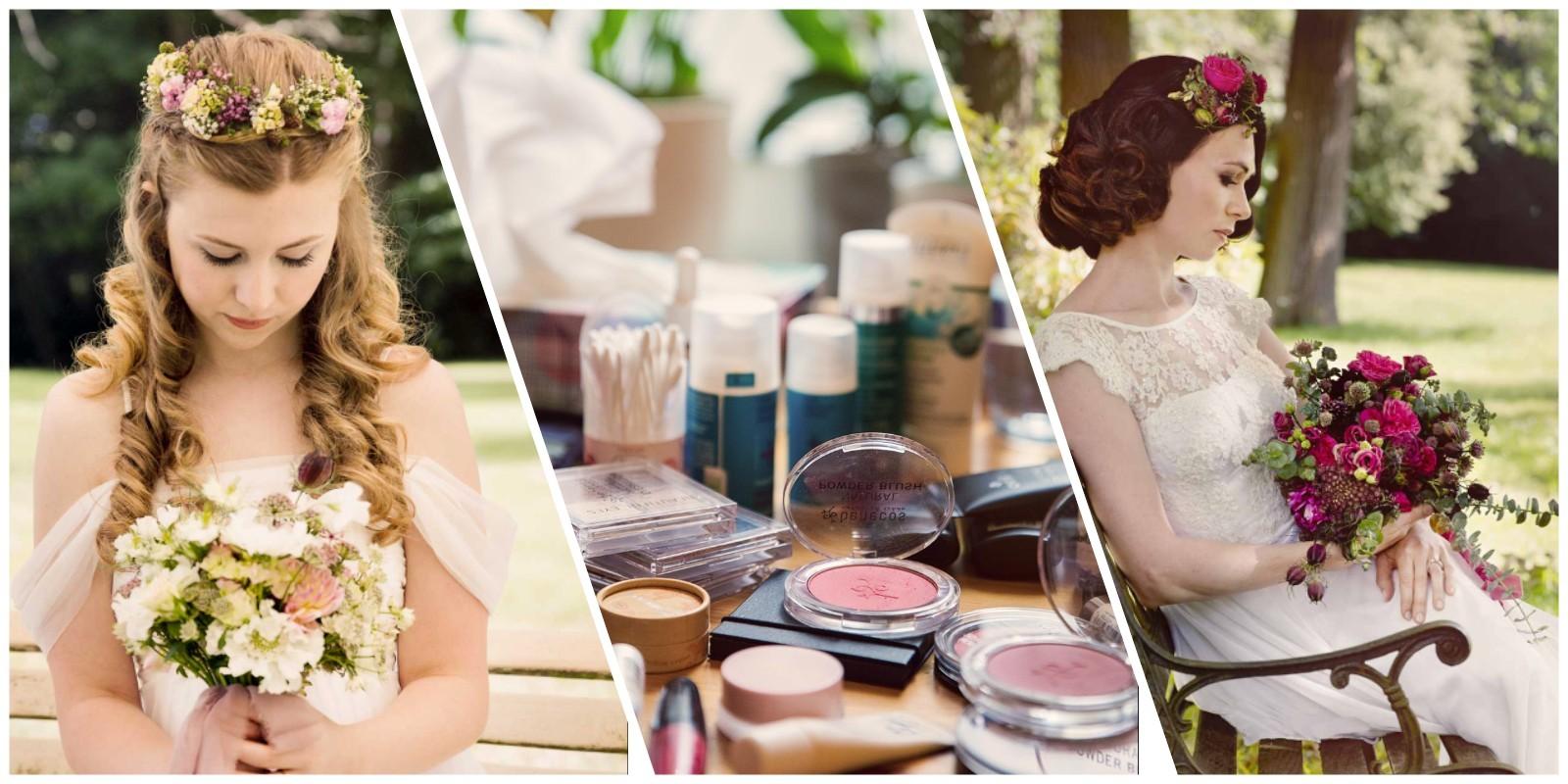 Veganes Braut-Make-up
